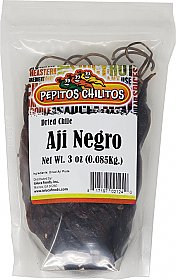Chile Aji Panka Black 3oz bag