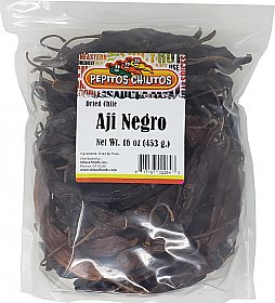 Chile Aji Panka Black 16oz bag