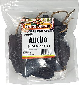 Chile Ancho 8oz bag
