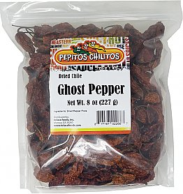 Chile Ghost Pepper - Bhut Jolokia 8oz bag
