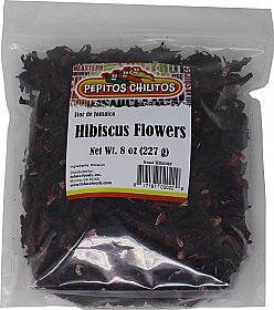 Hibiscus Flower - Flor de Jamaica 8oz bag