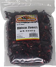 Hibiscus Flower - Flor de Jamaica 16oz bag