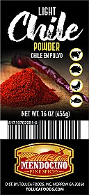 Light Chile Powder  16 oz