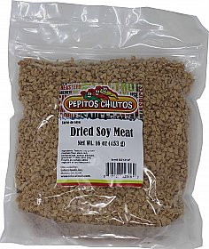 Dried Soy Meat / Carne de Soya Seca 16oz.