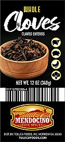 Mendocino Cloves Whole 12 oz. Jar / Clavo Entero
